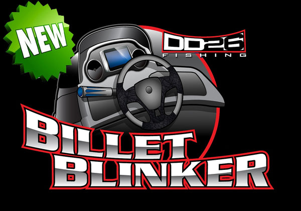 DD26 Fishing Billet Blinker Trim Handle