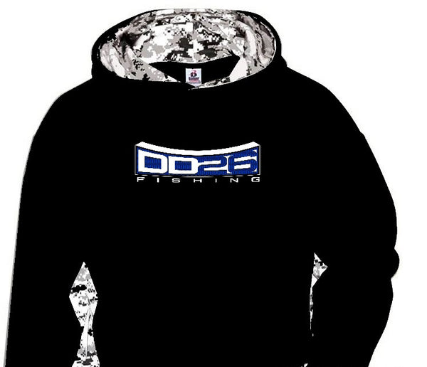 Badger Camo Performance Hoodies