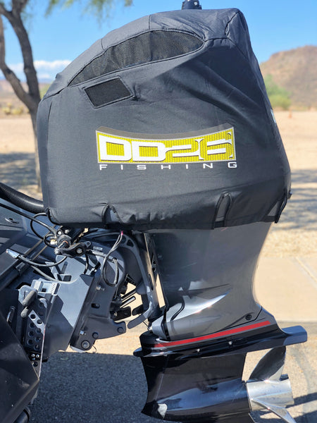DD26 Fishing Vented Engine Cover that fits Yamaha SHO V200-250hp 2010 to 2019