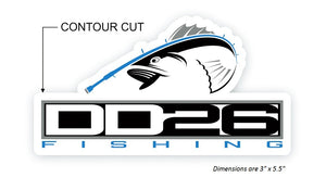 DD26 Fishing Decals