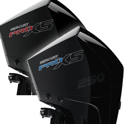 Mercury 4-Stroke Pro XS 200-300, V8 Vented Outboard Engine Cover