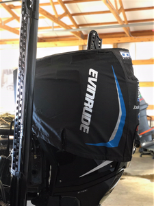 DD26 Fishing Vented Engine Cover that fits Evinrude Etec G2