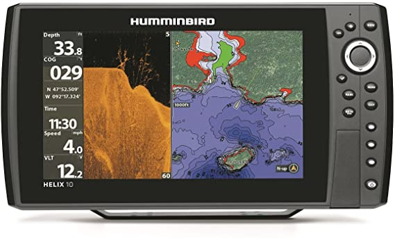 DD26 Fishing Mean Screen Anti Glare tempered glass that fits the Humminbird Helix 10 all Gens & Helix 9 Gen 1 & 2