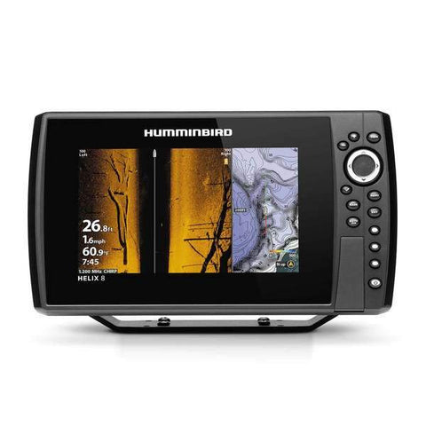 DD26 Fishing Mean Screen Anti Glare tempered glass that fits the Humminbird Helix 9 Gen 3 & Helix 8 all Gens
