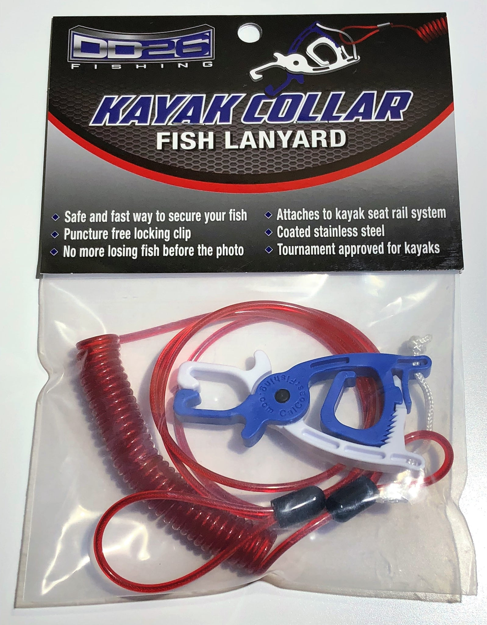 DD26 Kayak Collar Fish Lanyard