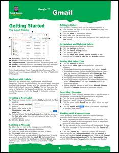 Gmail Quick Source Guide PDF - Quick Source Learning