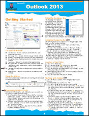 Outlook 2013 Quick Source Guide