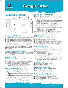 Google Drive Quick Source Guide PDF - Quick Source Learning