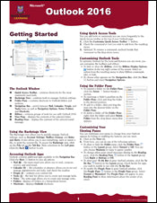 Outlook 2016 Quick Source Guide PDF