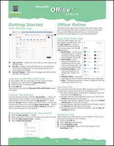 Office in Office 365 Quick Source Guide - Quick Source Learning