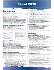 Excel 2010 Advanced Quick Source Guide PDF - Quick Source Learning