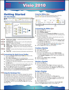 Visio 2010 Quick Source Guide PDF