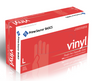 DISPOSABLE GLOVES - LARGE VINYL  100 PIECES PER BOX