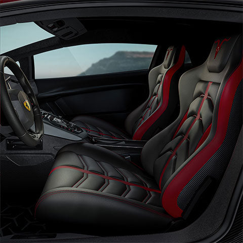 The gaming chair design is inspired by sports car.