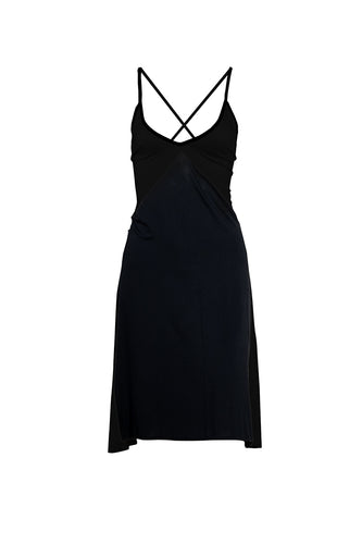 Sienna Short Dress - Black