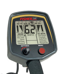 Fisher F75+ New Edition Metal Detector with F-Pulse Pinpointer and Digger