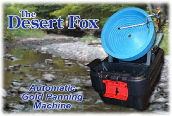 Desert Fox Gold Panning Machine Variable Speed