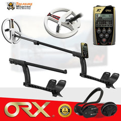 "XP ORX Metal Detector w/ WSAudio Wireless Headphones and 9"" Round DD Coil"