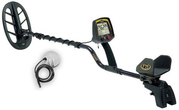 Fisher F75 SE LTD Metal Detector - Black Limited Edition
