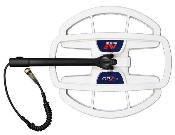 "Minelab GPZ 19 - 19x18"" Super-D Search Coil for GPZ 7000 Metal Detector"