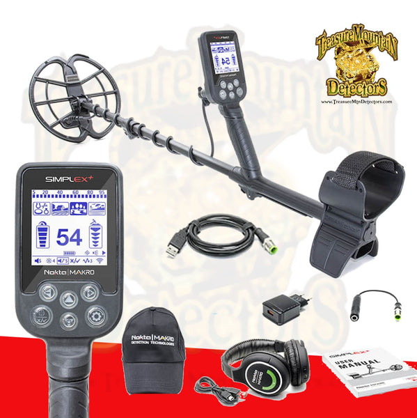 Nokta Makro Simplex Metal Detector with Wireless HP