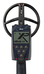 "XP Deus Metal Detector With WS5 Headphones - Your Choice 9"" DD X35 Coil or 11"" DD X35 Coil"
