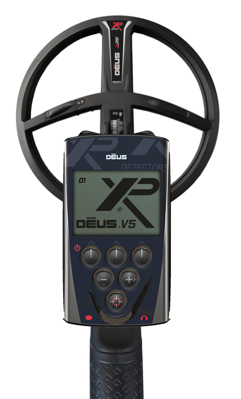 XP Deus Replacement LCD Telecommander Remote Control Back-lit Display D08