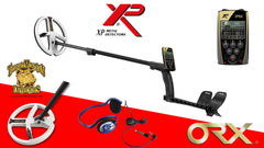 "XP ORX Metal Detector w/ Wired FX-02 Headphones and 9"" Round DD Coil"