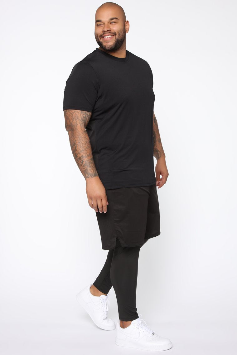 Short Sleeve Tee -Black Nigeria