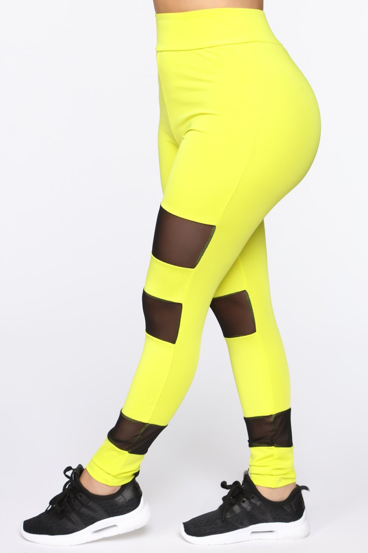 Werkin' Hard Legging - Yellow/Multi