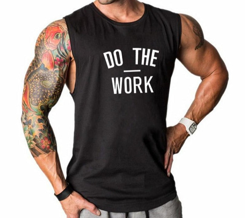Do The Work Gym Muscle Top