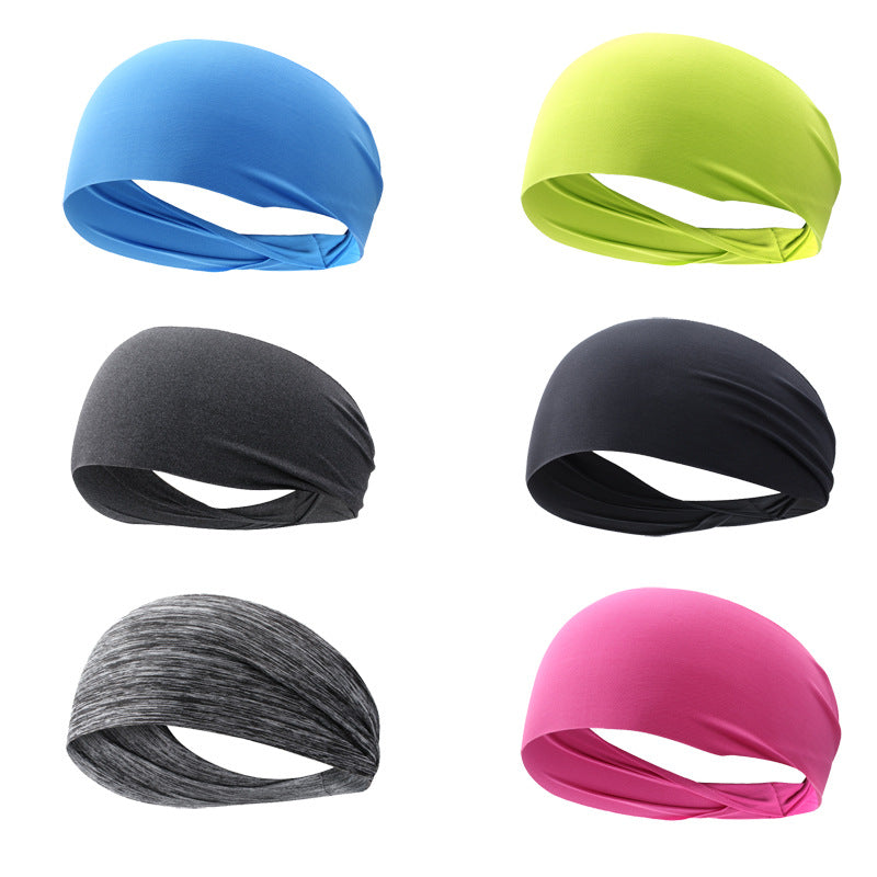 Polyester Quick Dry Headband sweat absorption