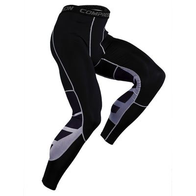 Patchwork Men Sports Pants/Leggings