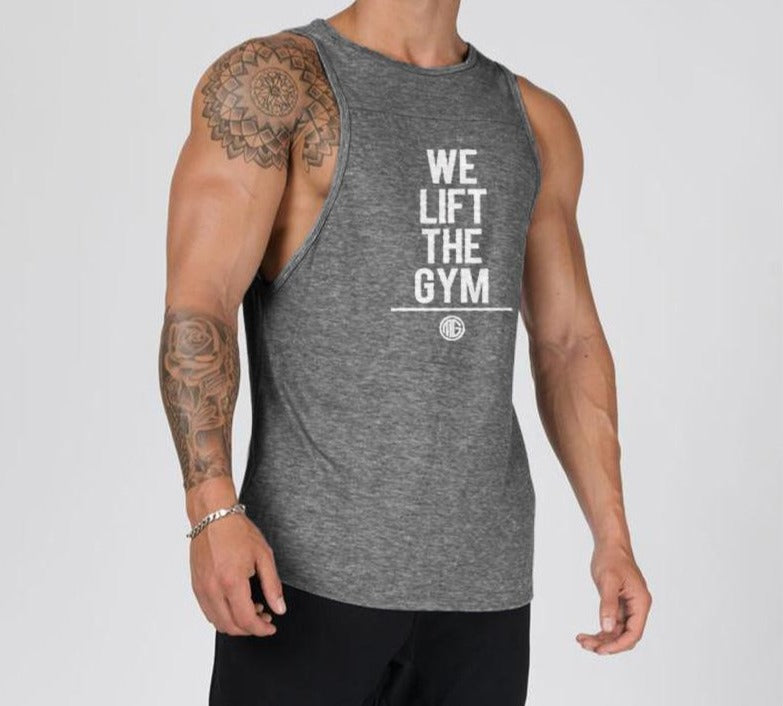We Lift The Gym Muscle Top