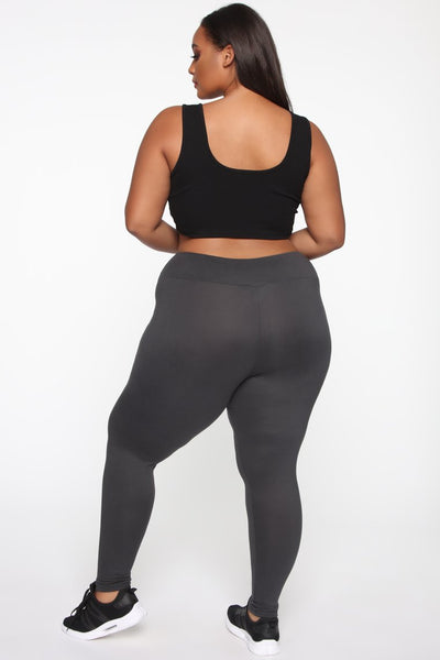 Super High Rise Leggings - Charcoal
