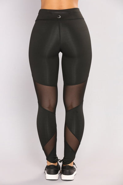 Up Active Leggings - Black