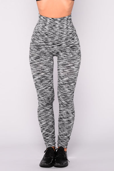 lena Leggings - Black/White