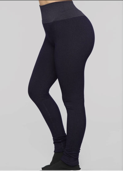 Premium Navy Leggings