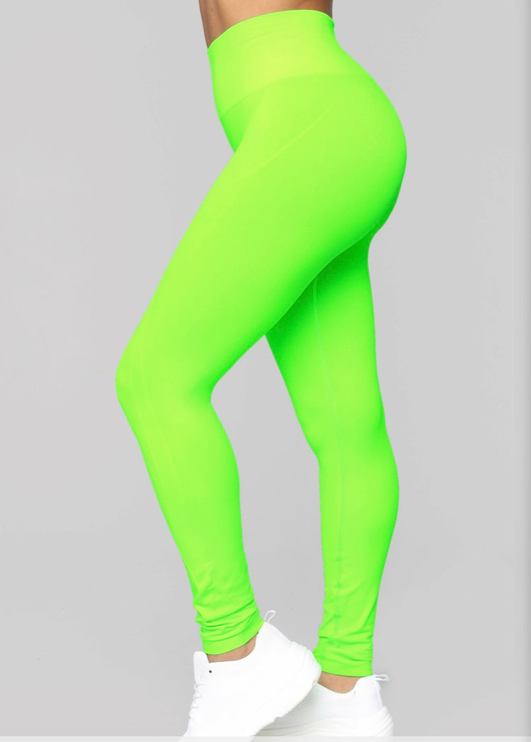 It Active Leggings - Neon Green