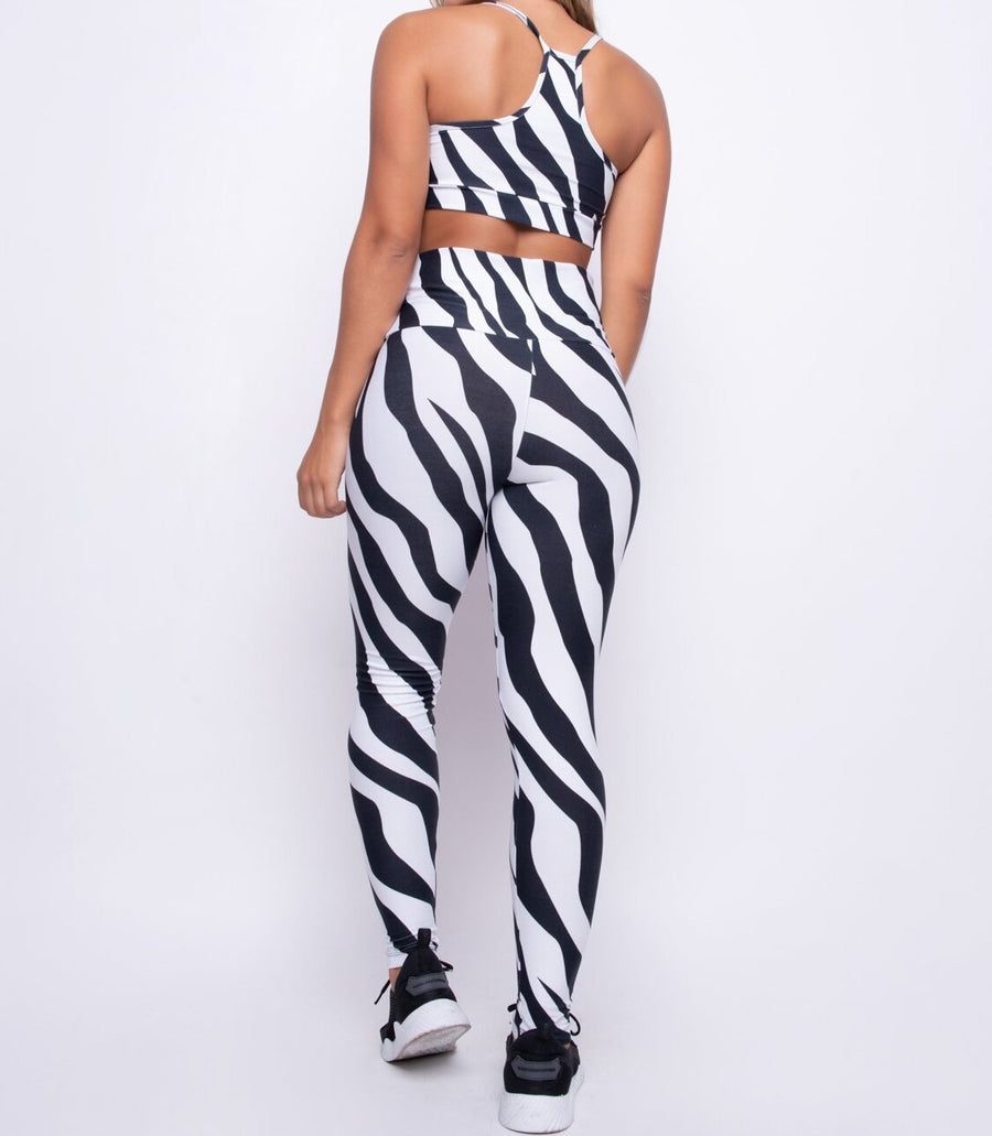 Zebra Brazilian Fitness Set