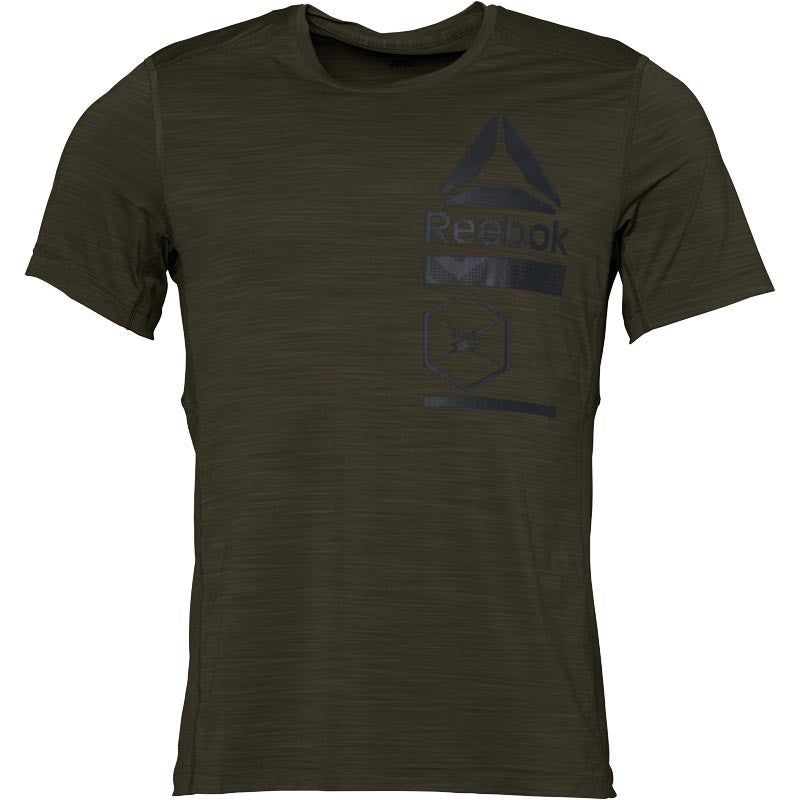 Reebok Training ACTIVChill Top, Army Green
