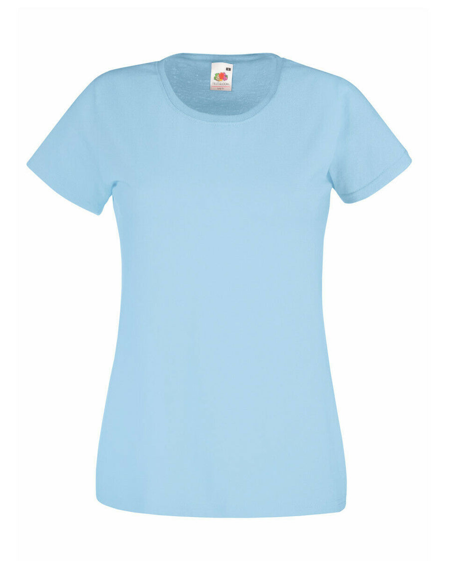 Cotton Tshirt Sky Blue