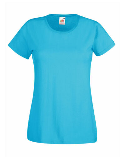 Cotton Tshirt Azure blue