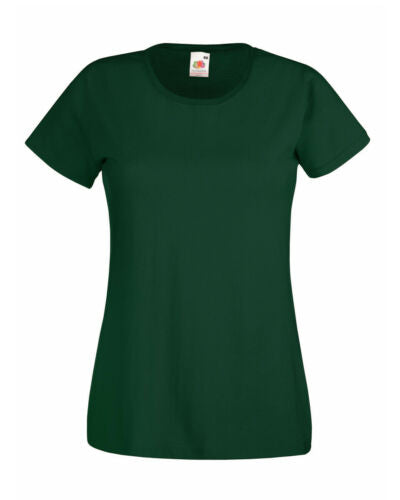 Cotton Tshirt Bottle Green