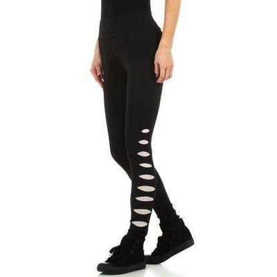 Damen Cut Out Side Leggings