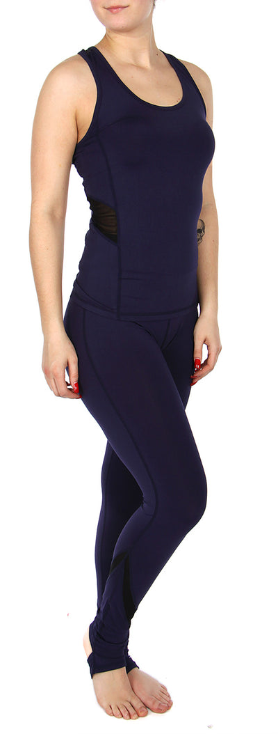 Navy Three piece tracksuit