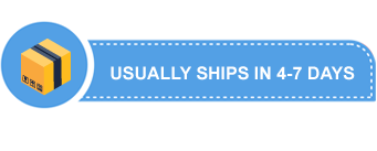 Usually Ships Within 4-7 Days