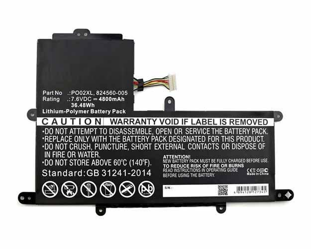 HP Stream 11-R015WM Battery - BGHPR110NB2