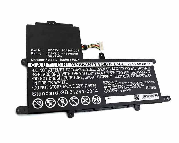 HP Stream 11-R015WM Battery - BGHPR110NB