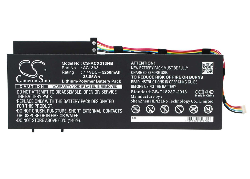 Acer AC13A3L Battery - BG-ACX313NB2